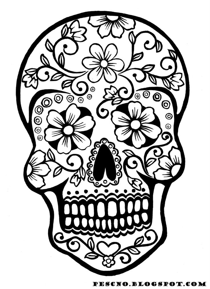 Dia De Los Muertos Coloring Pages Endearing Dia De Los Muertos Coloring Pages To Download And Print For Free Review