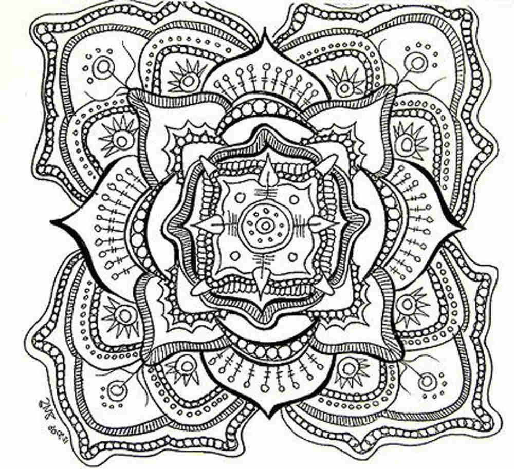 Detailed coloring pages printable - Detailed Coloring Pages To And Print For Free
