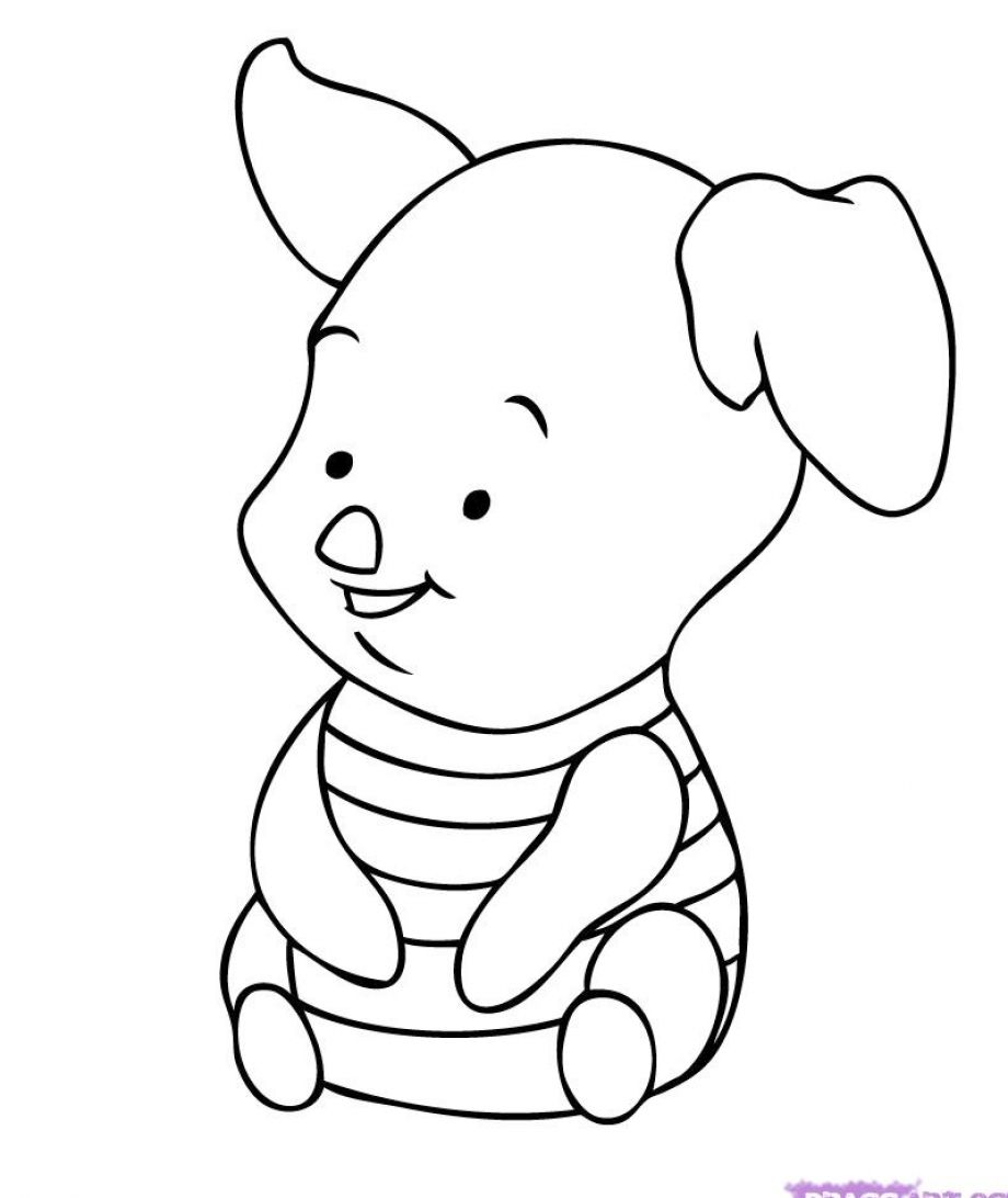 Cute disney coloring pages to download and print for free Disney animals coloring book