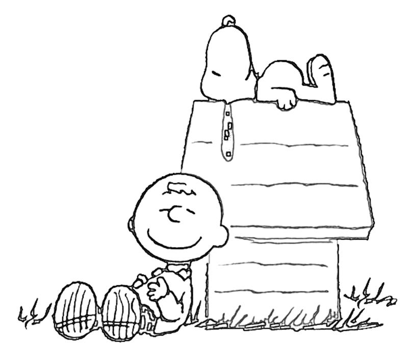 Charlie Brown Coloring Pages To Download And Print For Free