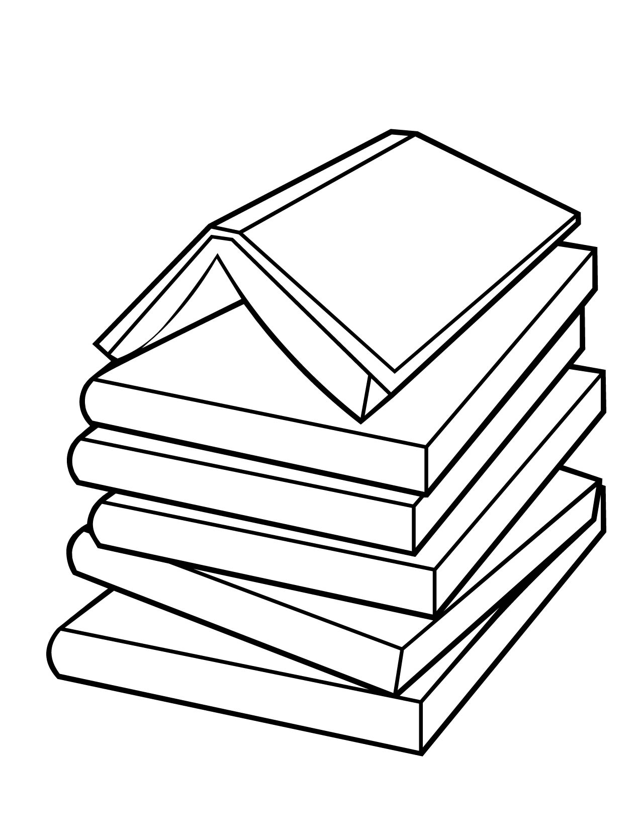 book coloring pages - photo#11