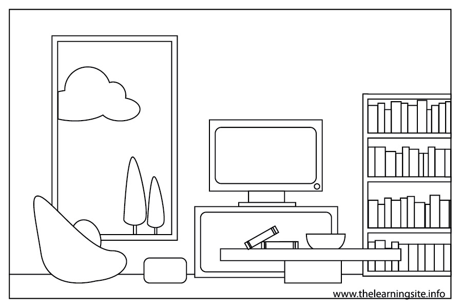 egyptian furniture coloring pages - photo#21