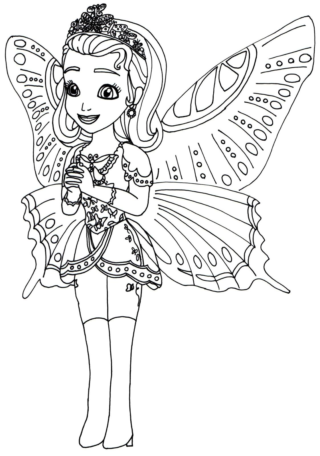 Princess amber coloring pages - Princess Amber Coloring Pages 2