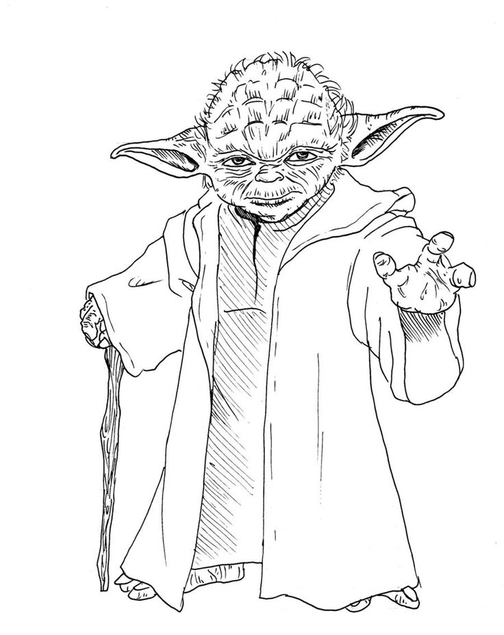 Refreshing image for yoda printable