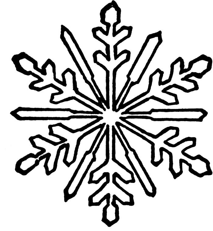 This is a graphic of Slobbery Snowflakes Coloring Pages Printable