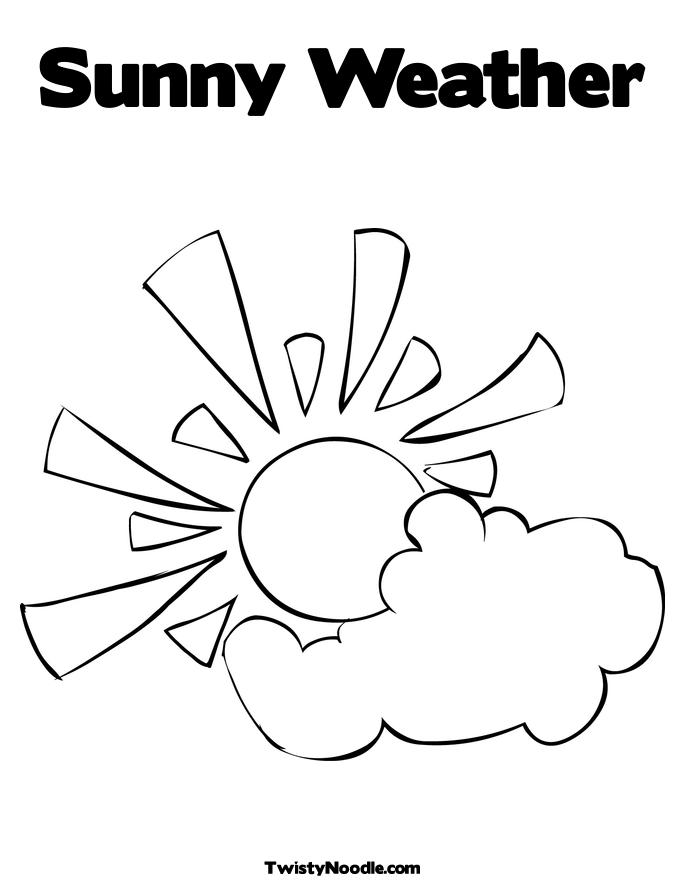 coloring pages weather - photo#9