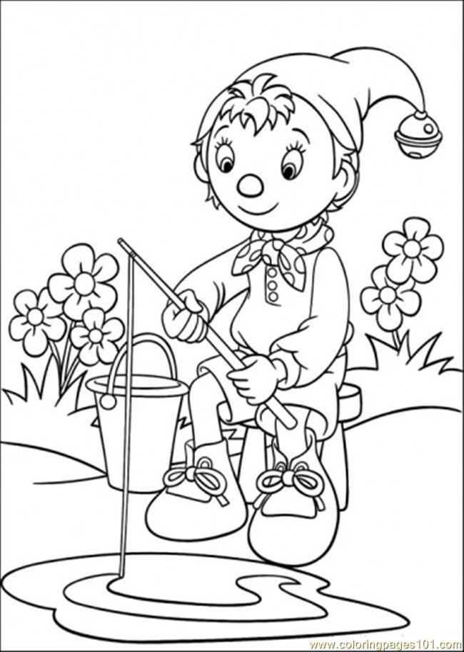 noddy coloring pages - photo#3