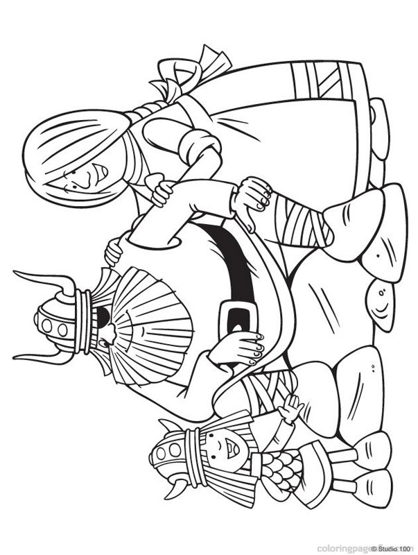 viking coloring pages to and print for free