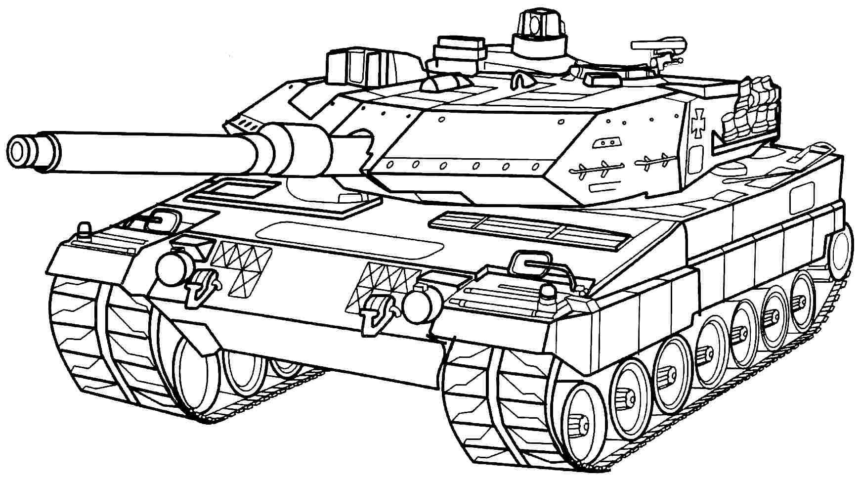 Military Coloring Sheets Printables For KidsColoringPrintable