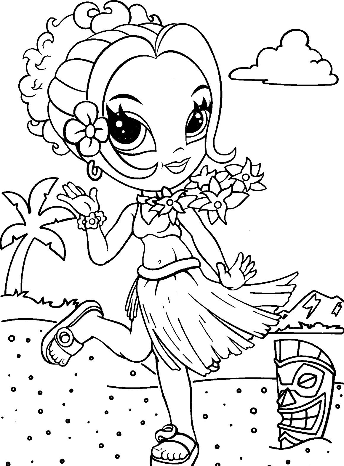 lisa frank free coloring pages - photo#2