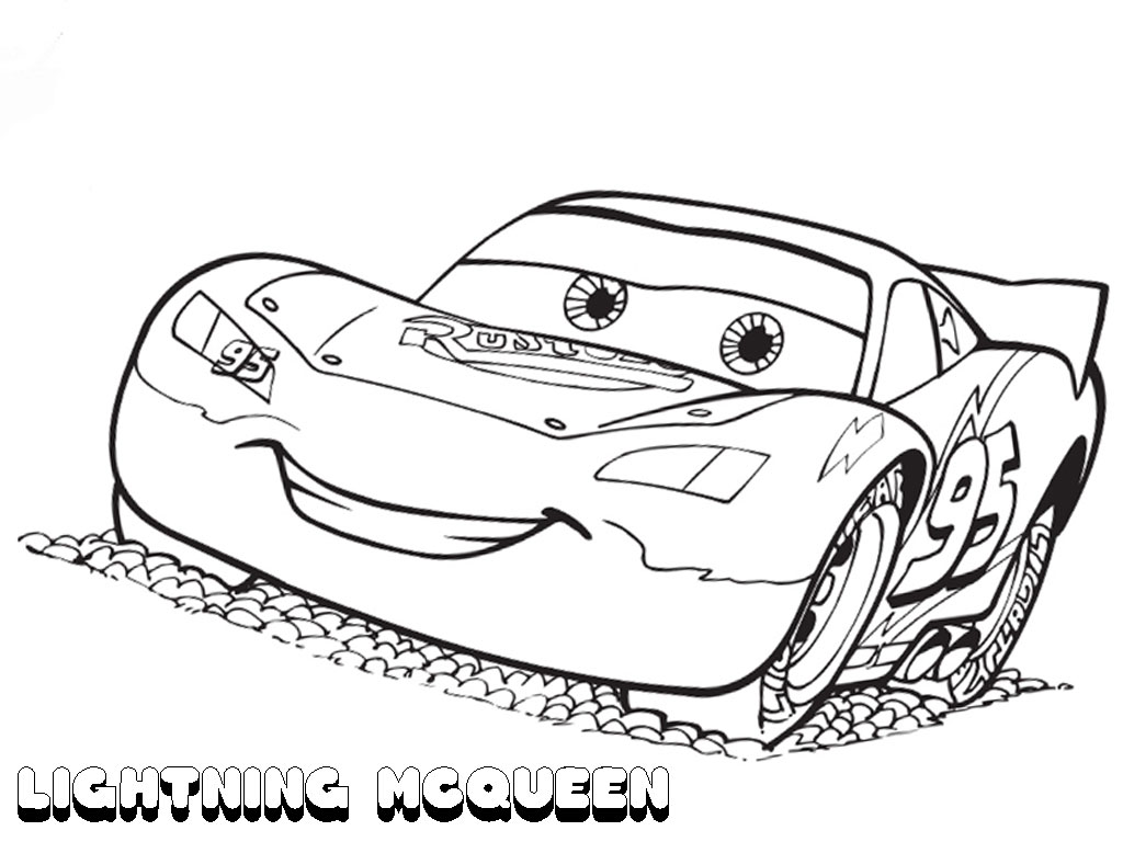 Lightning mcqueen coloring pages to download and print for ...