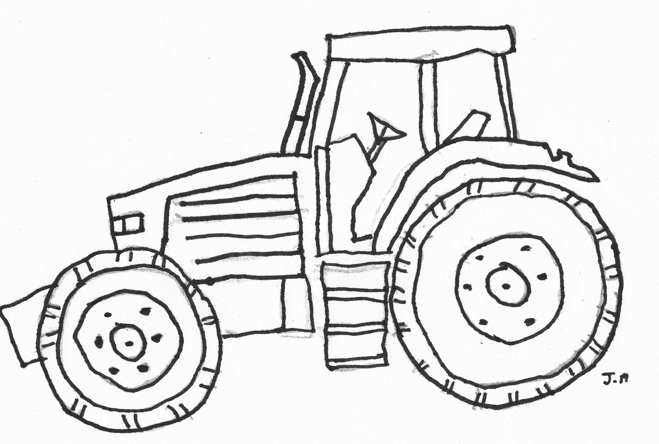 free backhoe coloring pages - photo#41