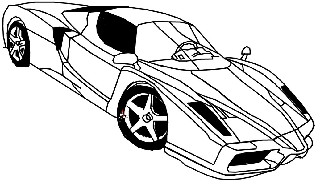Ferrari Coloring Pages To And Print For Free