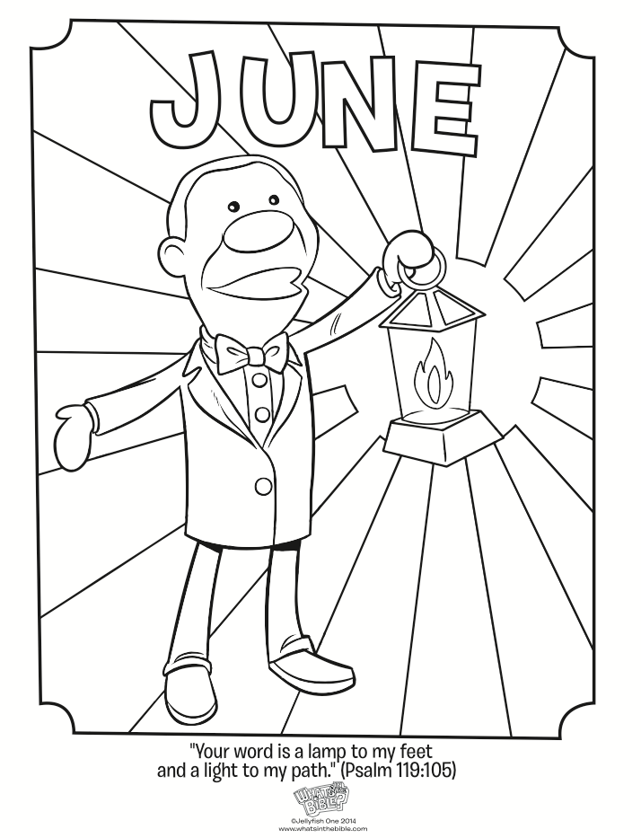 june coloring pages to download and print for free