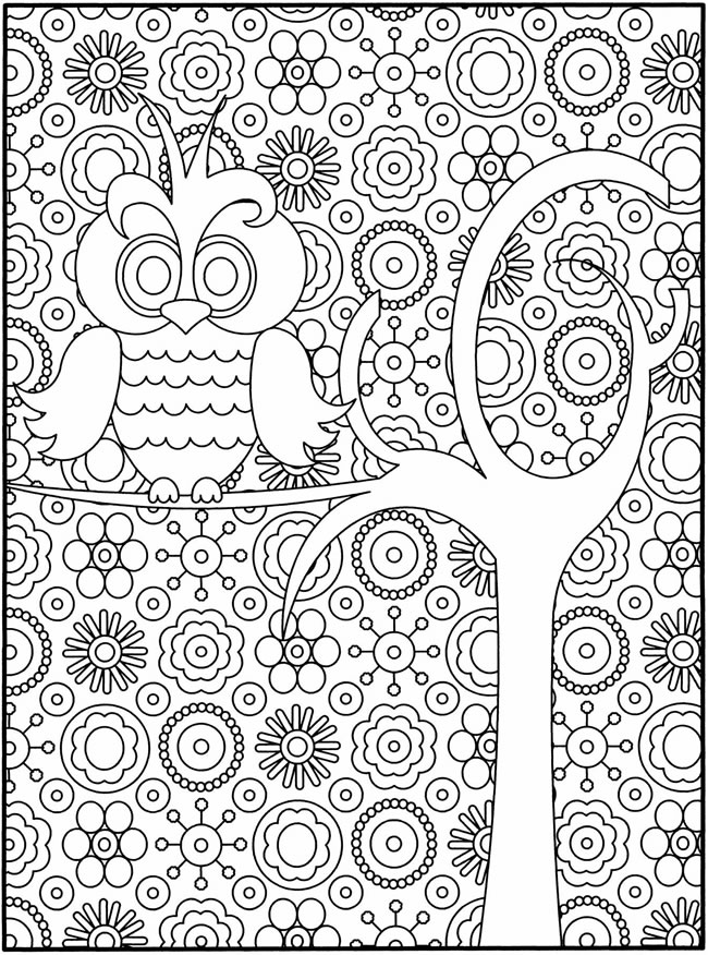 free printout coloring pages | Dover coloring pages to download and print for free