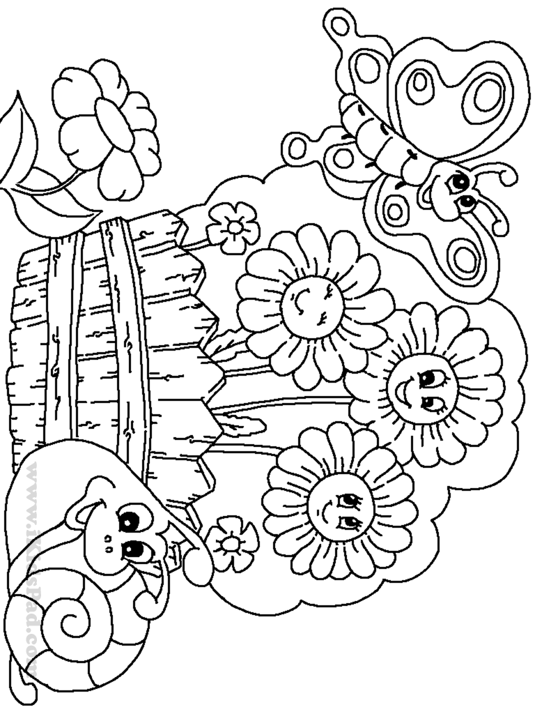 coloring pages free horticulture - photo#2