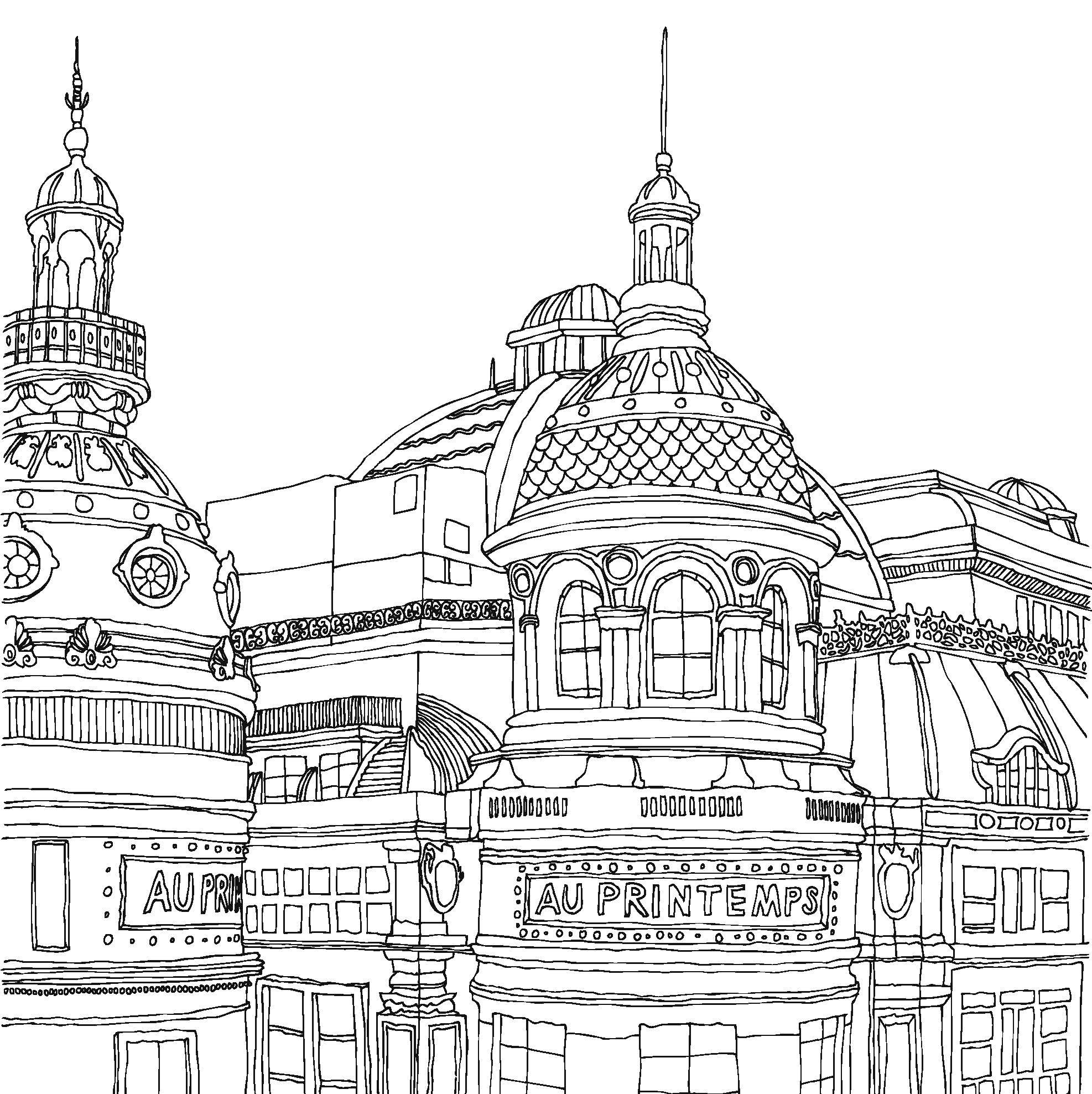Best Website For Free Coloring Pages : City coloring pages to download and print for free