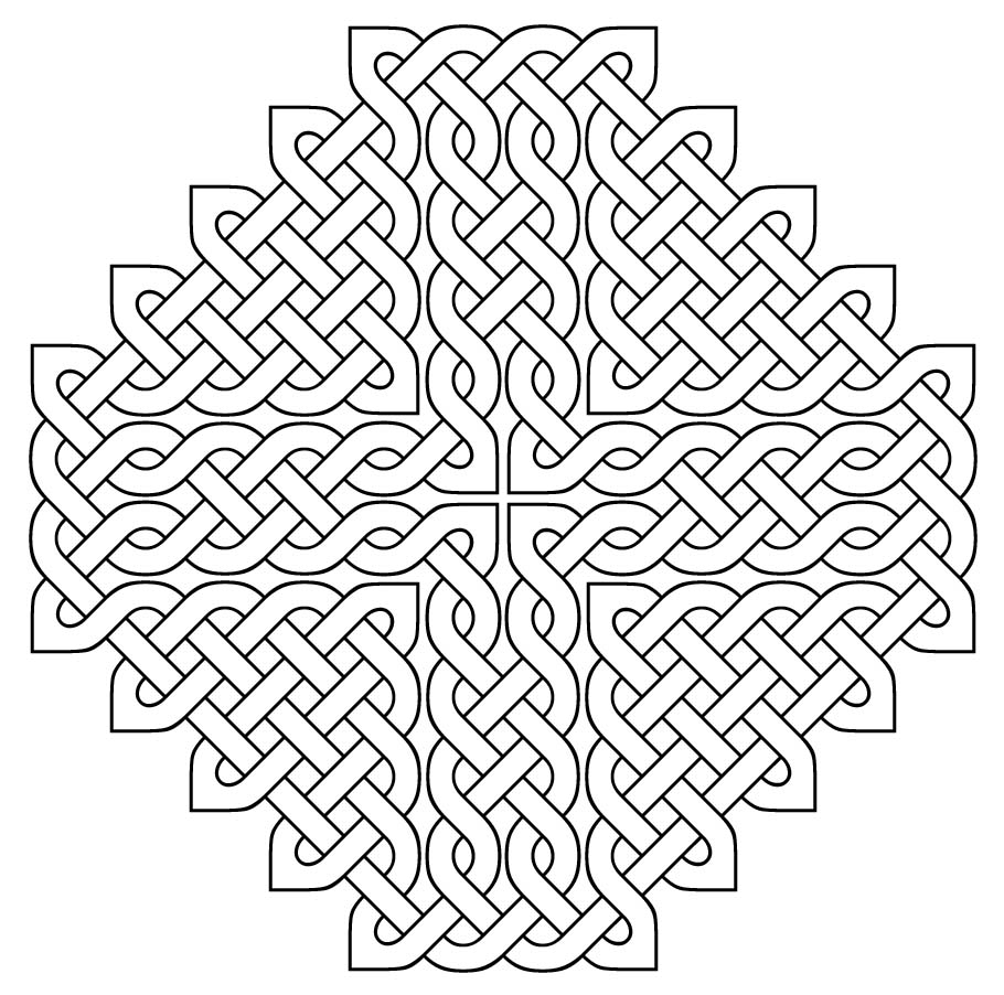 Verjaardags Kleurplaten Voor Mama Celtic Knot Coloring Pages To Download And Print For Free