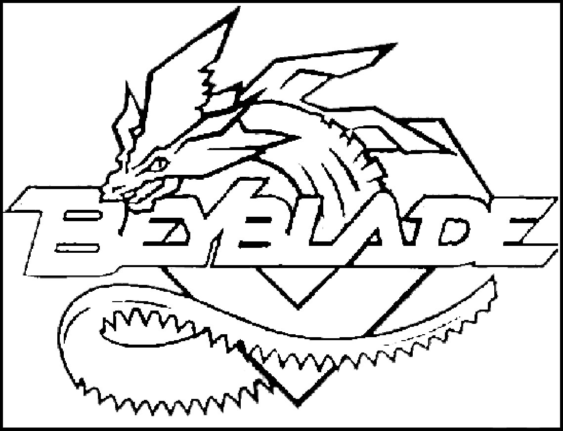Beyblade coloring pages to download and print for free - Dessin toupie ...