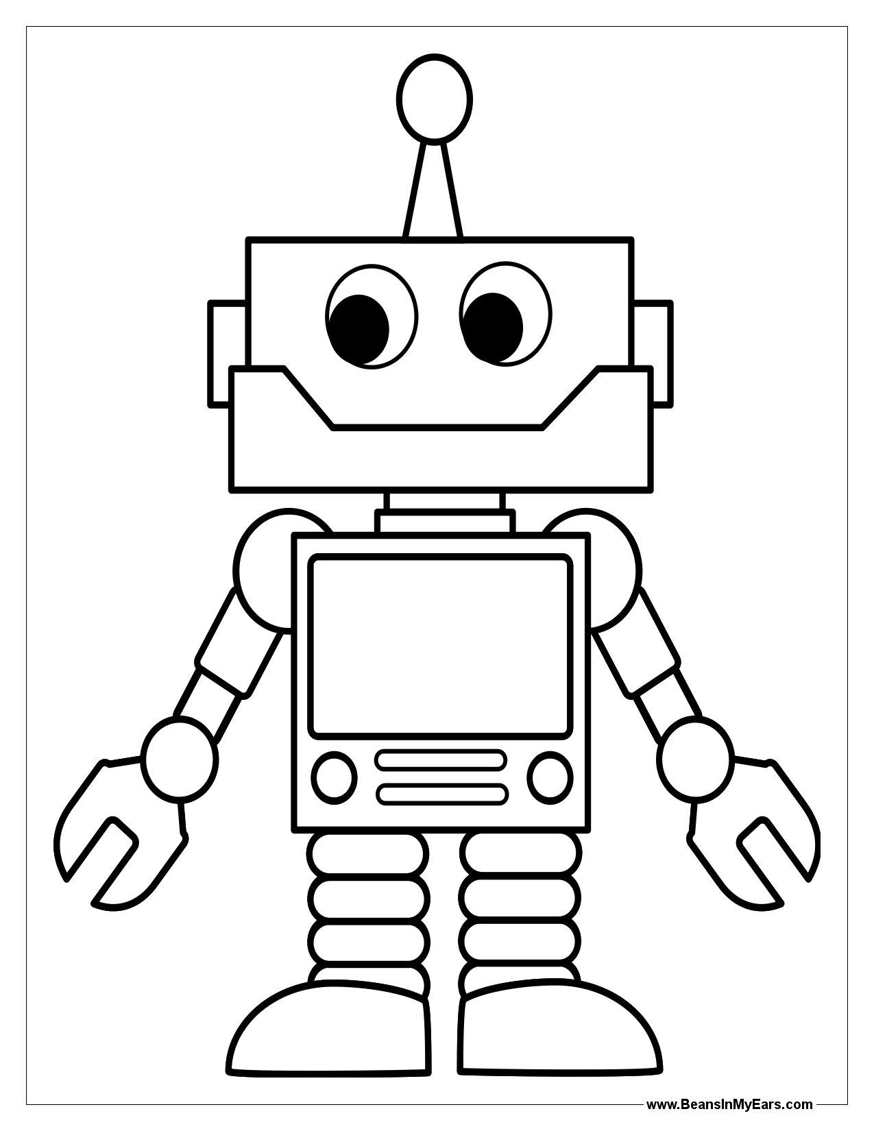 Раскраска для мальчиков роботы бесплатно