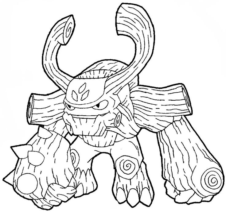 Skylander Giant Coloring Pages Download And Print For Free - Giant-coloring-pages