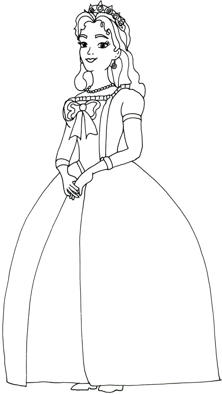 This is a photo of Bewitching queen coloring pages