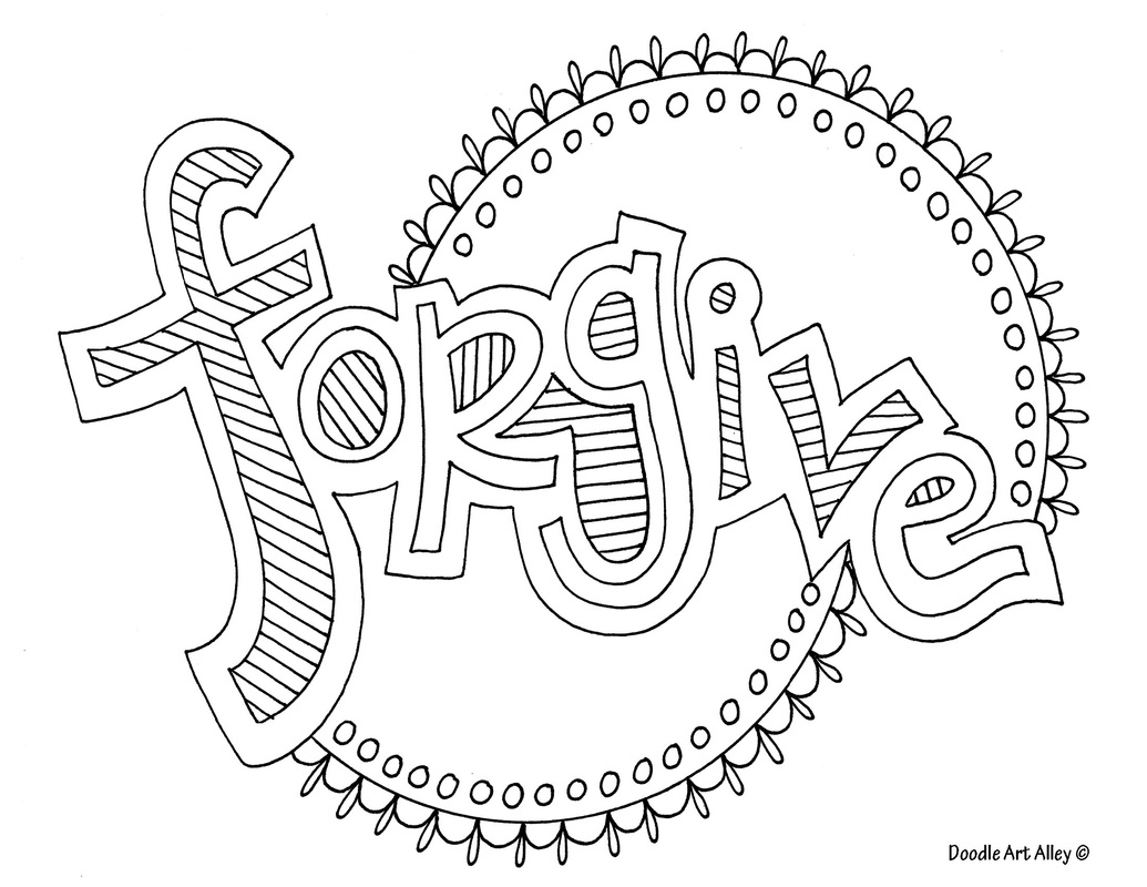 forgiveness coloring pages download and print for free