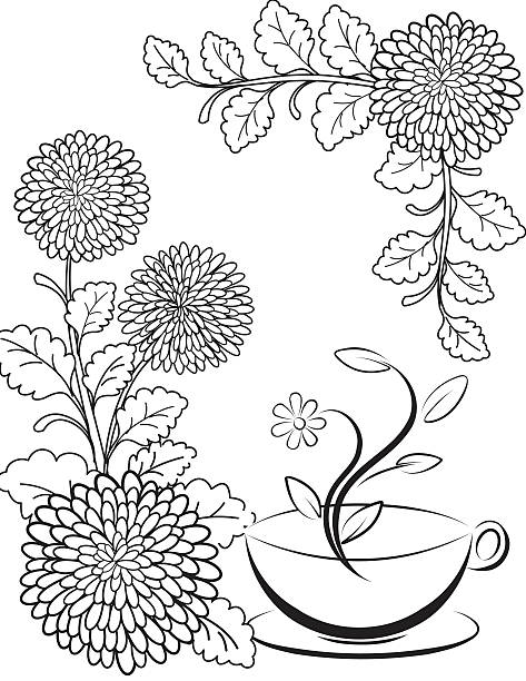 Chrysanthemum Coloring Pages To Download And Print For Free