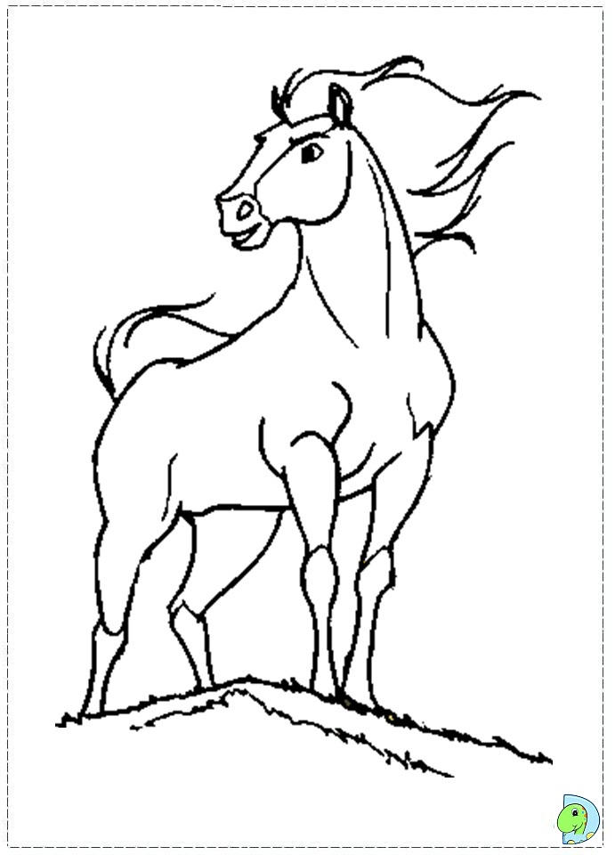 Spirit coloring pages to download and print for free