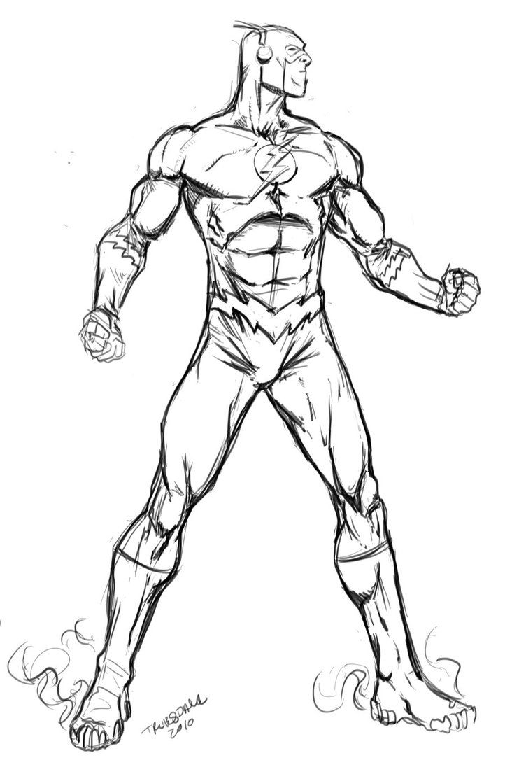 Dc ics flash coloring pages download and print for free