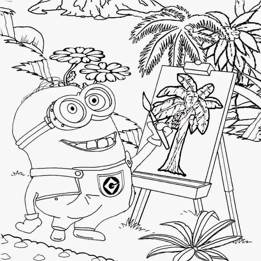 Vampire minion coloring pages download and print for free for Vampires coloring pages