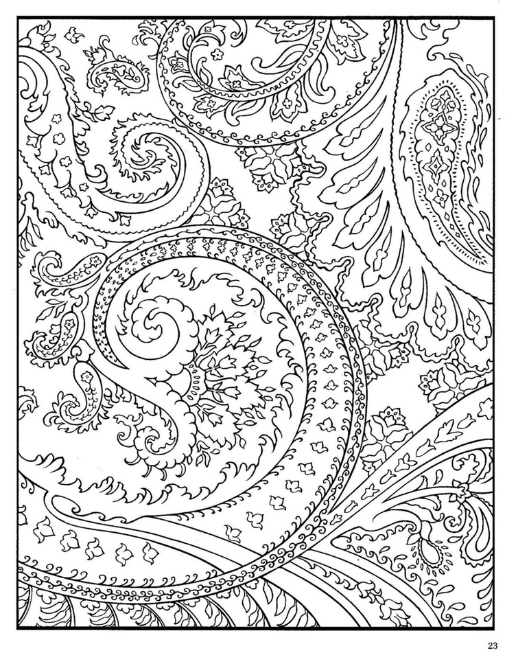 pattern animals coloring pages - photo#2