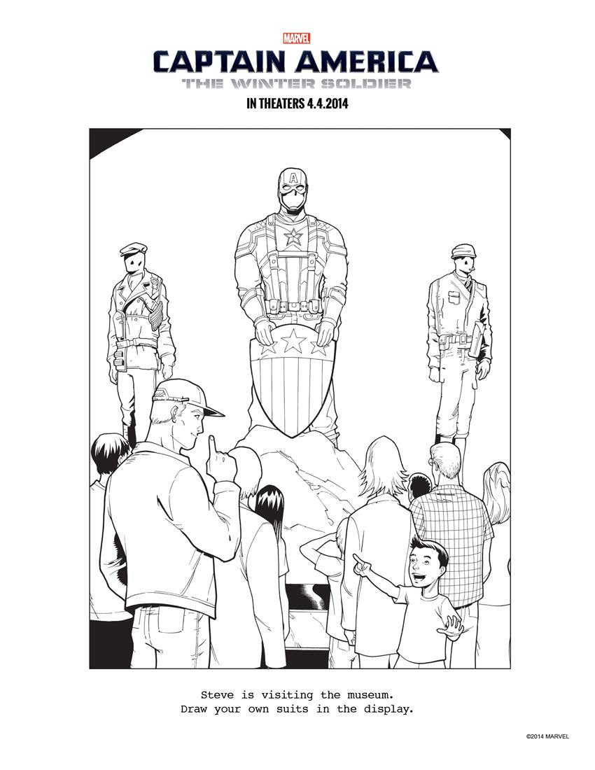 the winter soldier coloring pages download and print for free
