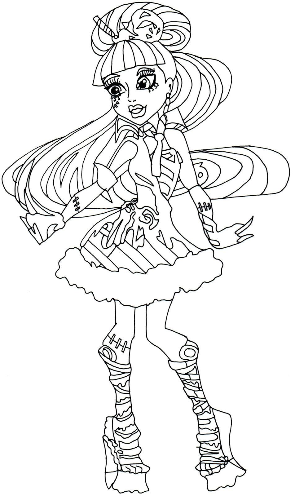 Sweet 1600 coloring pages download