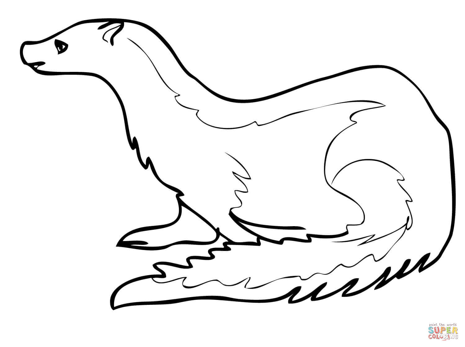 ermine coloring pages download and print for free