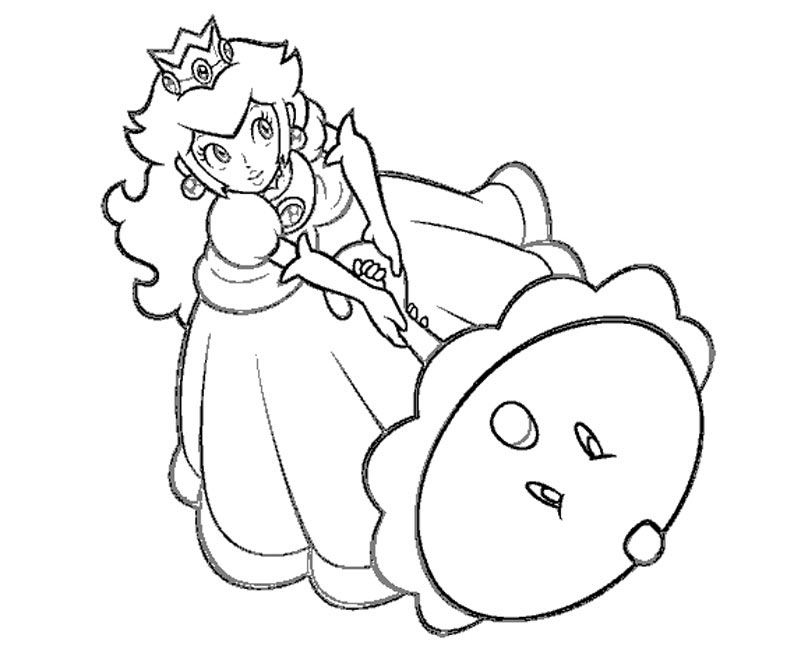 peach printable coloring pages - photo#26