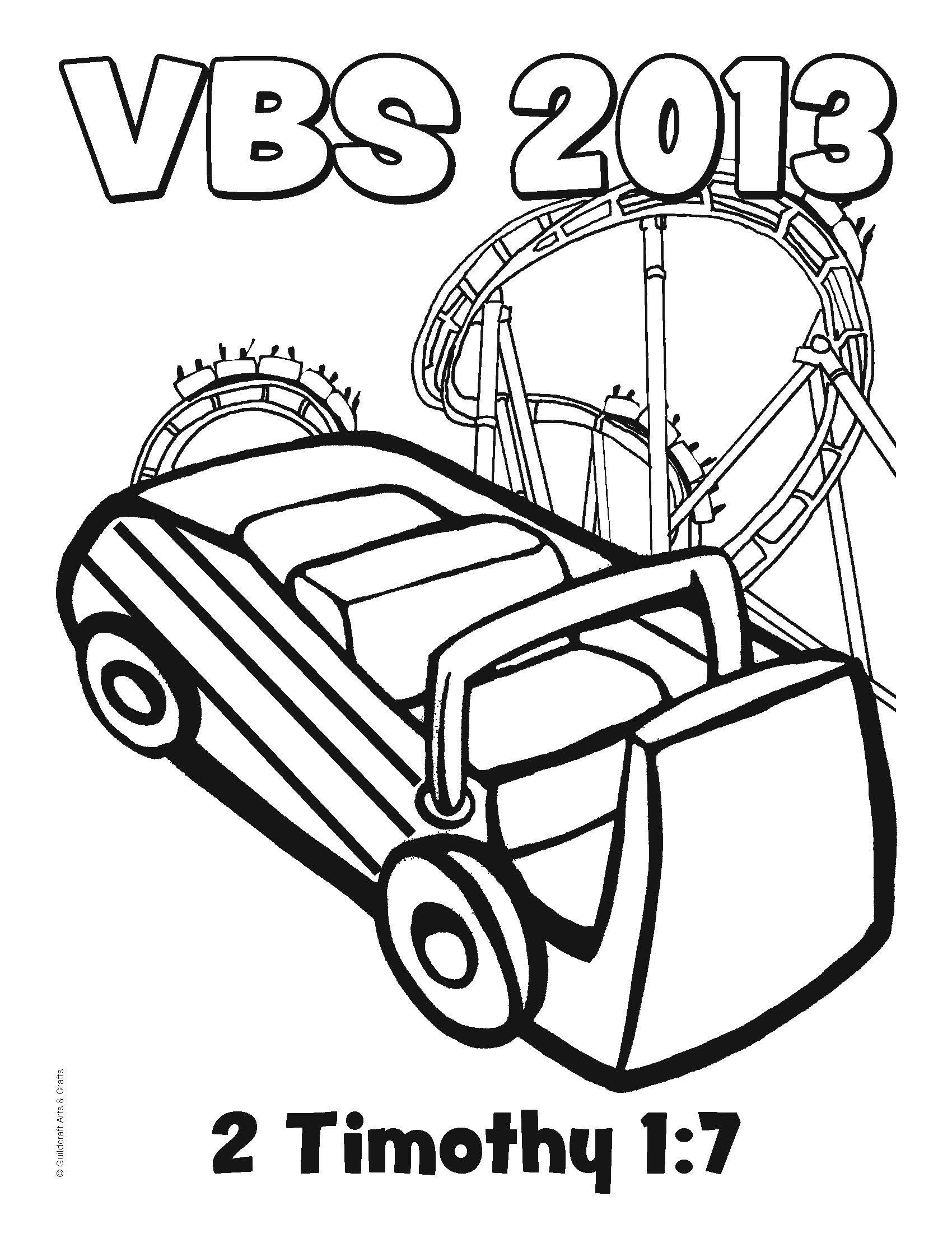 Roller Coaster Coloring Pages Download And Print For Free - Roller-coaster-coloring-page