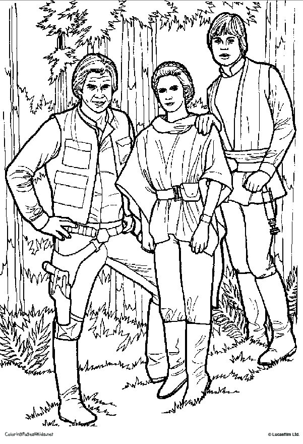 Star Wars Princess Padme Or Leia Coloring Pages Coloring