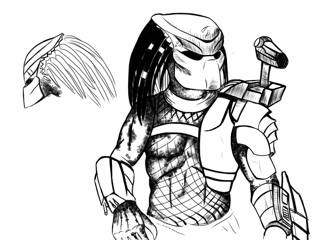 predator coloring pages - predator coloring pages to download and print for free