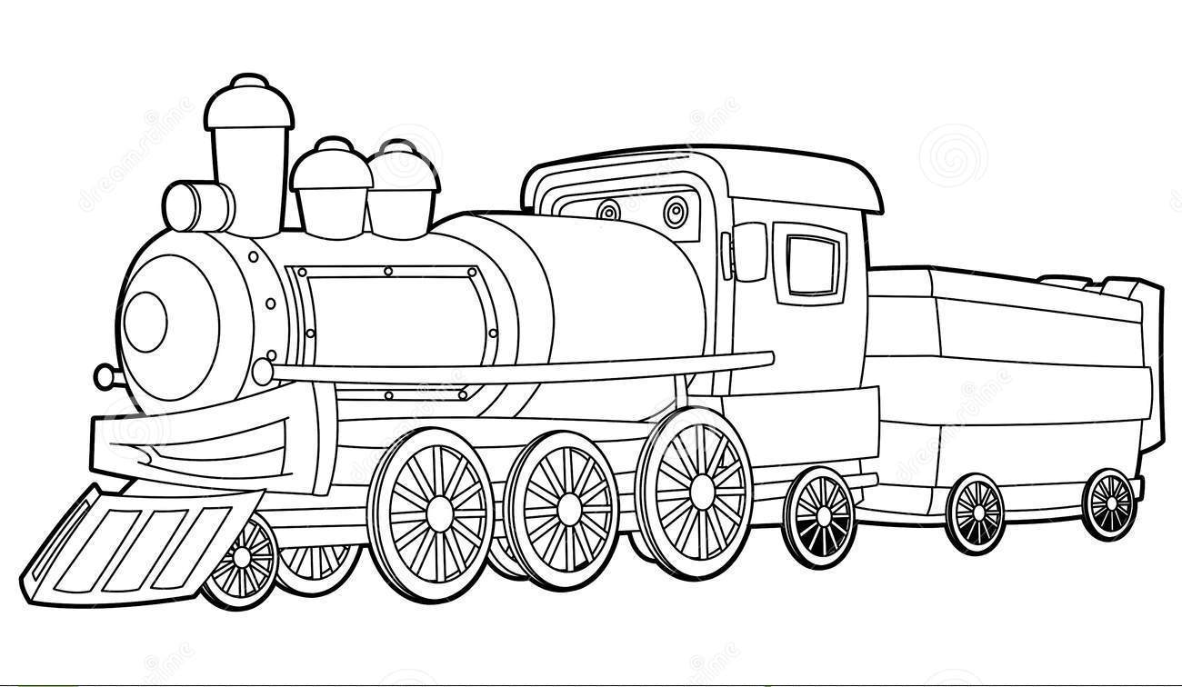 polar express train coloring pages - photo#13