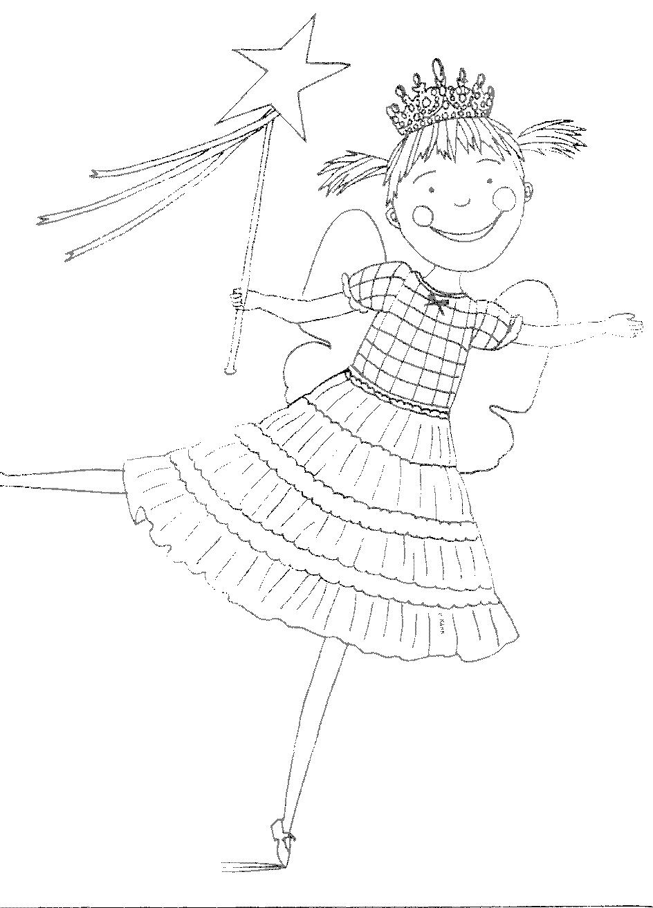 Pinkalicious coloring pages to