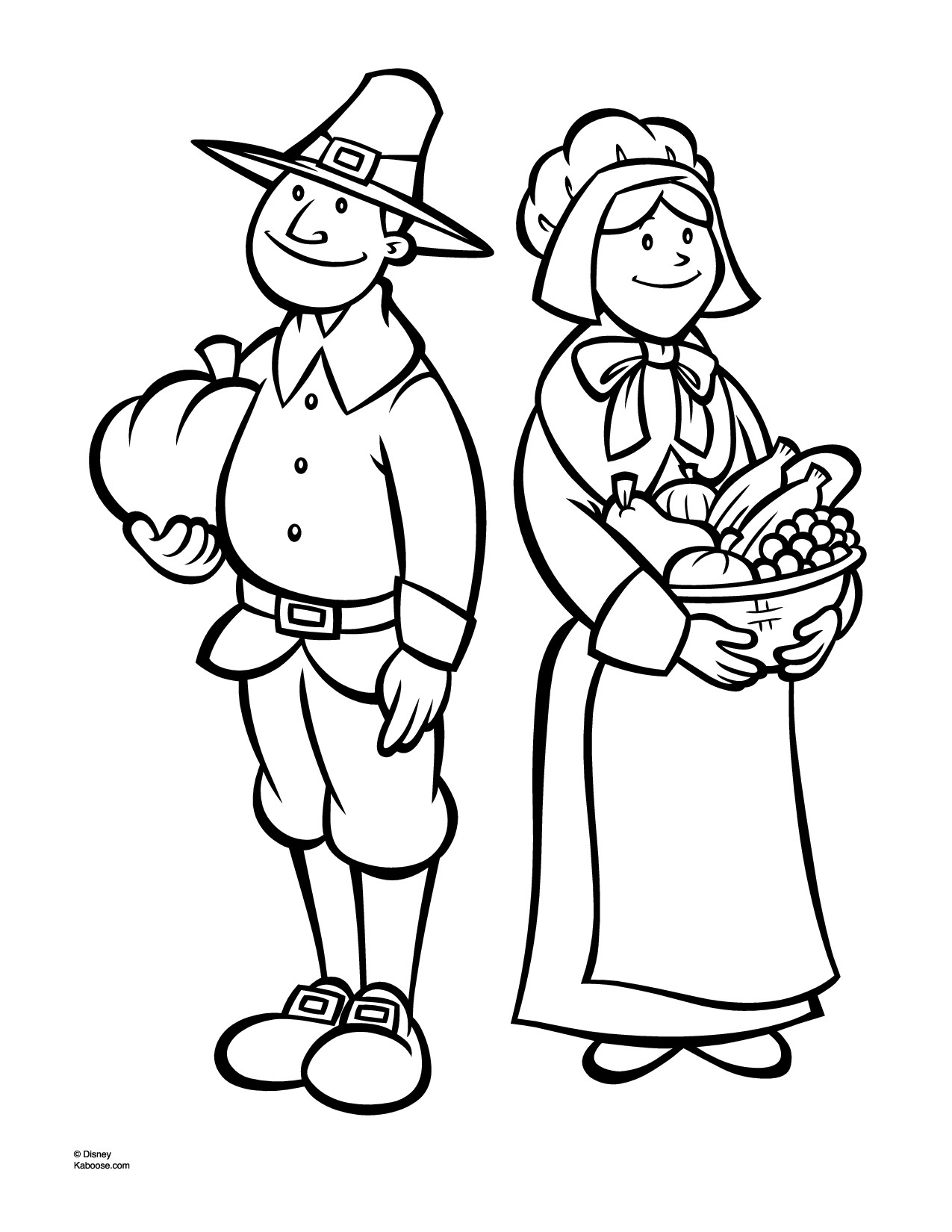 Pilgrim Coloring Pages To Download And Print For Free Pilgrims Coloring Pages Free