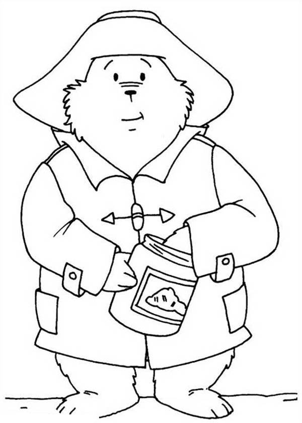 Paddington Bear Coloring Pages Print
