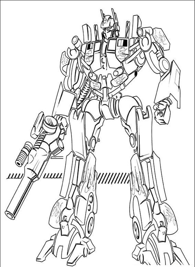 category 2017 tags free printable optimus prime coloring pages - Coloring Pages Transformers Prime
