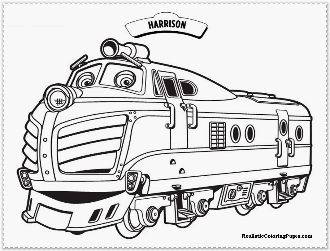 Chuggington coloring pages to download and print for free for Disney chuggington coloring pages