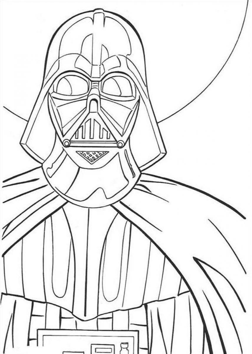 Darth Vader Coloring Pages To Download And Print For Free Darth Vader Coloring Pages To Print