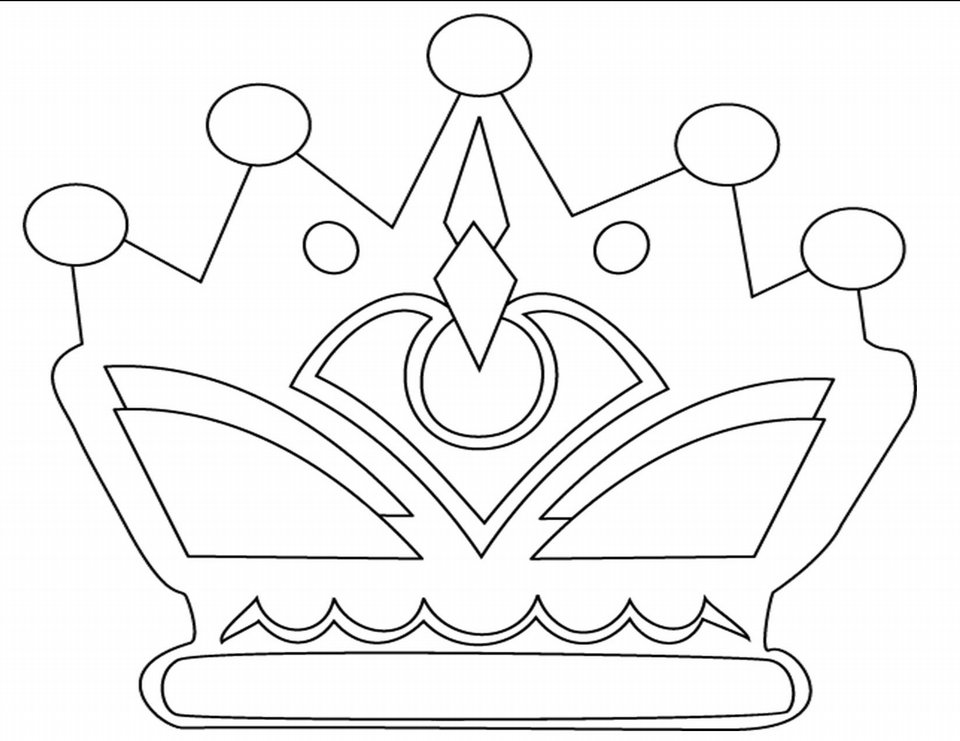 Fairy Crown Coloring Pages Coloring Coloring Pages