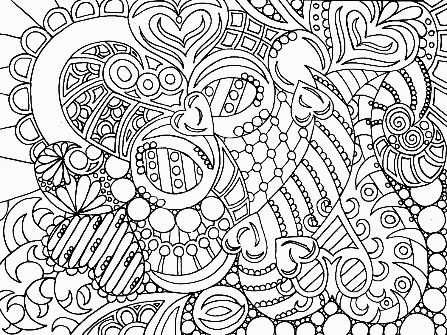 creative coloring pages - Creative Coloring Sheets