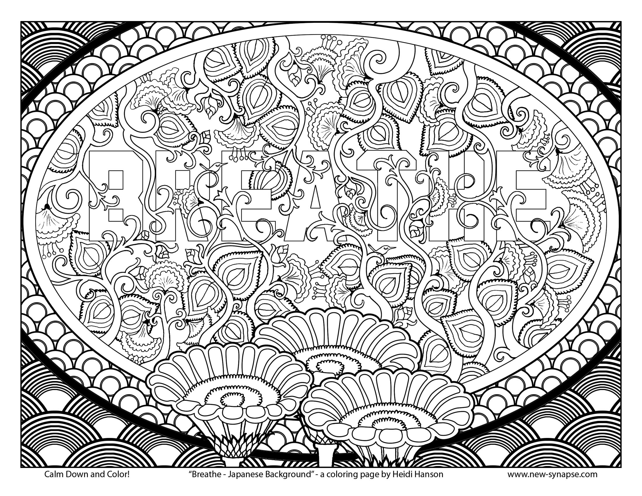 therapy coloring pages - Free Art Coloring Pages