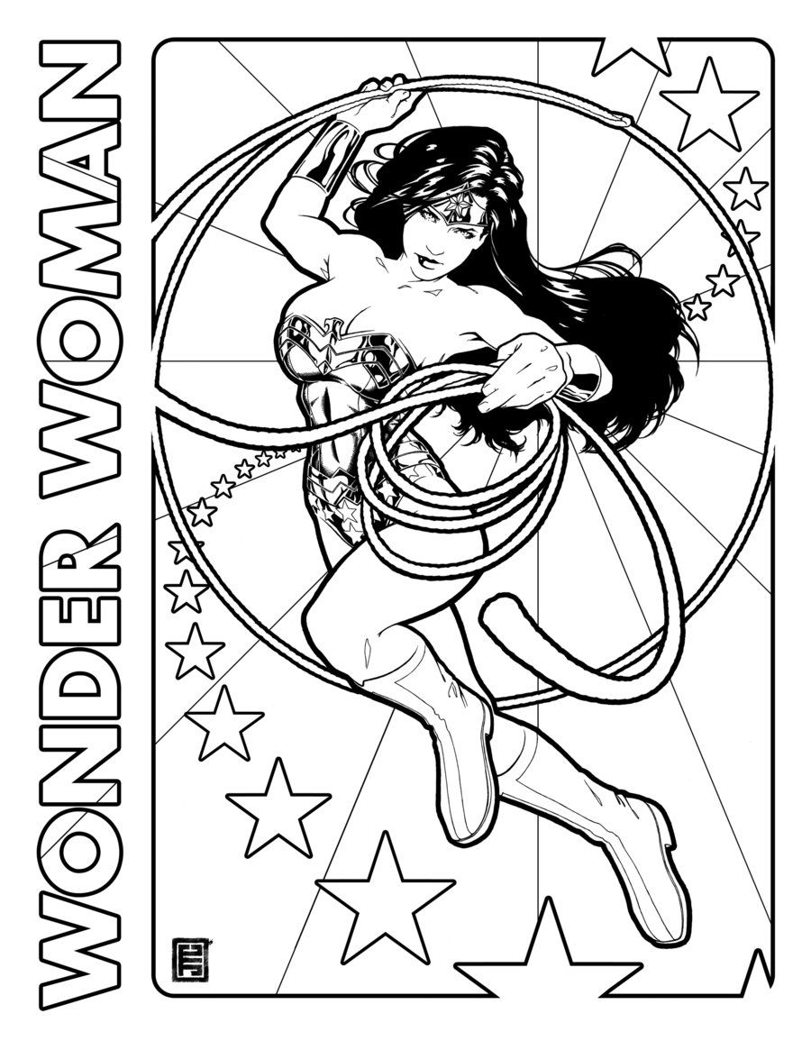 Clip Art Wonderwoman Coloring Page wonder woman coloring pages to download and print for free pages
